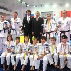 Всероссийские соревнования Гражданин мира по кумитэ 2012