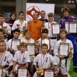 ЦФО и Первенство Москвы по кумитэ (24-25 октября 2009)