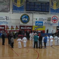 XV Открытыйй турнир по Кекусинкай каратэ памяти Вячеслава Ли 23.10.2011